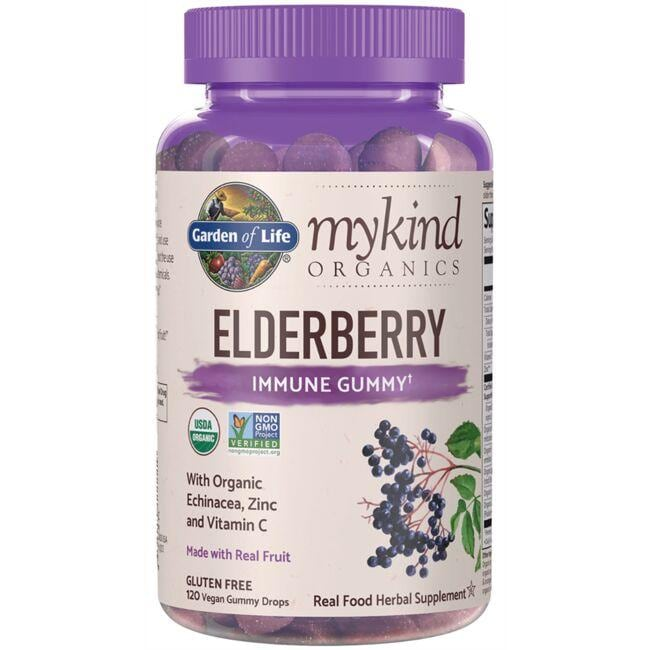Garden of LifemyKind Organics Elderberry Immune Gummy