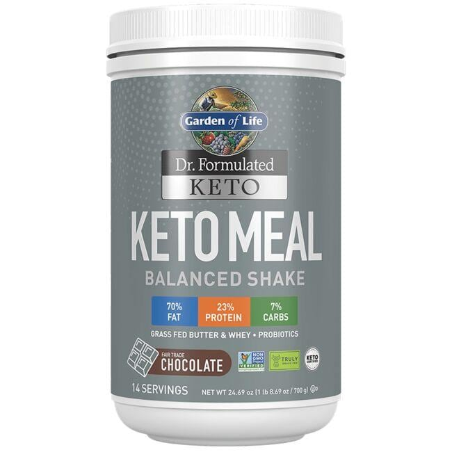 Garden of Life Dr. Formulated Keto Meal - Chocolate