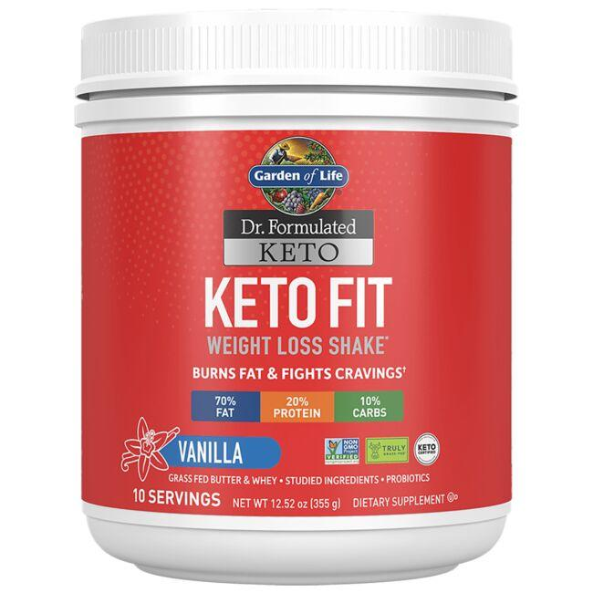 Garden of Life Dr. Formulated Keto Fit - Vanilla