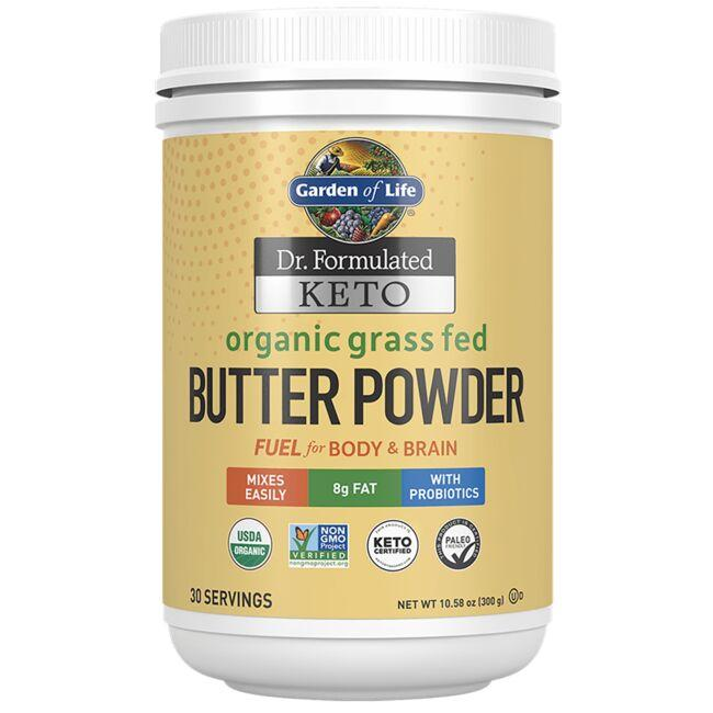 Garden of Life Dr. Formulated Keto Organic Grass Fed Butter