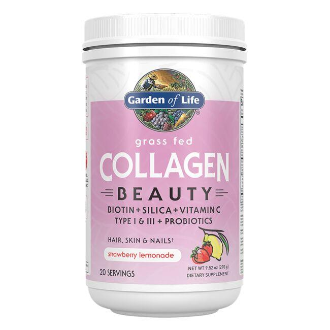 Grass Fed Collagen Beauty - Strawberry LemonadeItem | GLF282