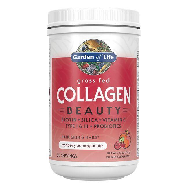 Garden of LifeGrass Fed Collagen Beauty  - Cranberry Pomegranate