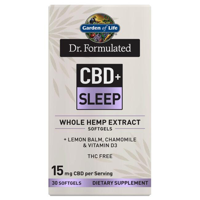 Garden of Life Dr. Formulated CBD+ Sleep