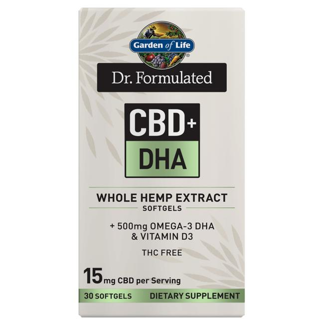 Garden of Life Dr. Formulated CBD+ DHA
