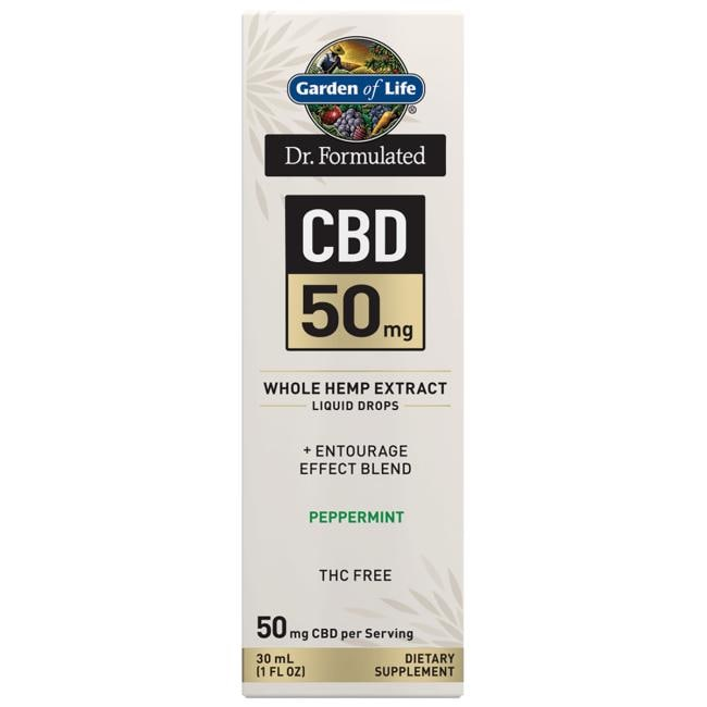 Garden of Life Dr. Formulated CBD - Peppermint