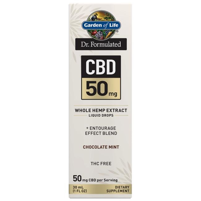 Garden of Life Dr. Formulated CBD - Chocolate Mint