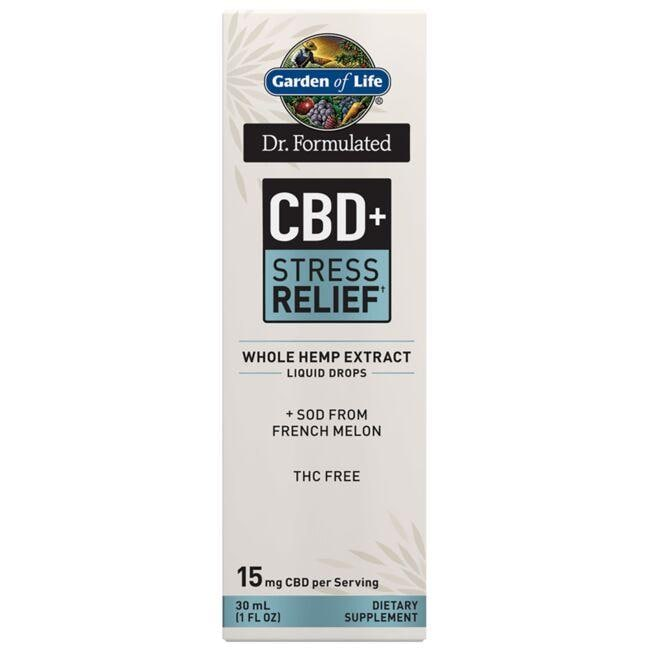 Garden of Life Dr. Formulated CBD+ Stress Relief