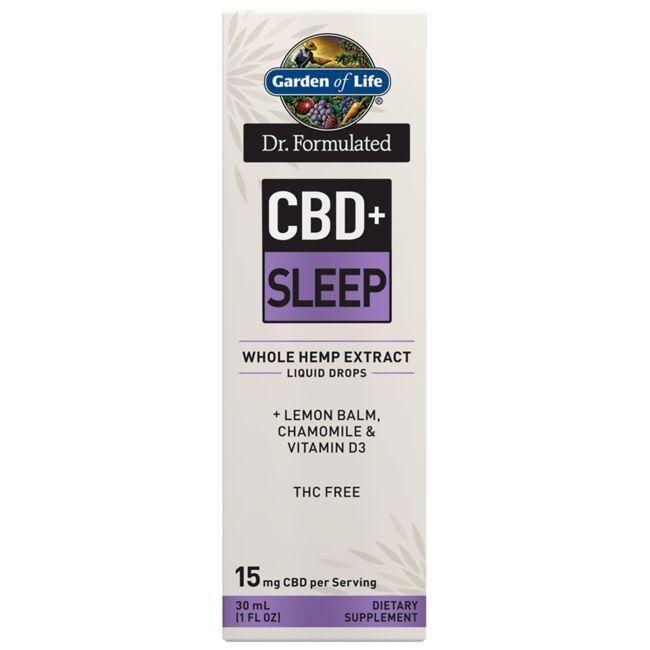 Garden of LifeDr. Formulated CBD+ Sleep