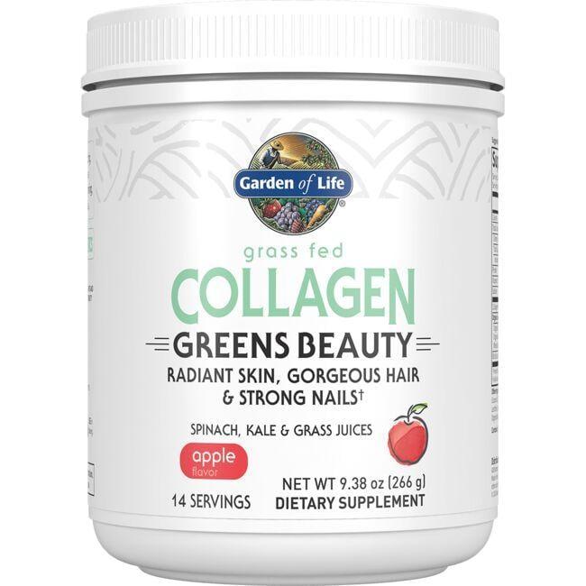 Garden of LifeGrass Fed Collagen Greens Beauty - Apple