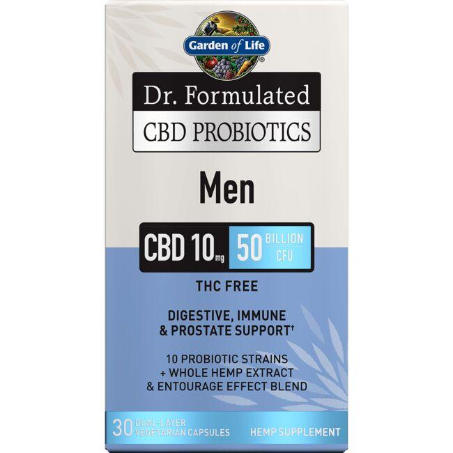 Garden of LifeDr. Formulated CBD Probiotics Men