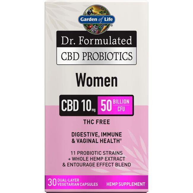 Garden of Life Dr. Formulated CBD Probiotics Women