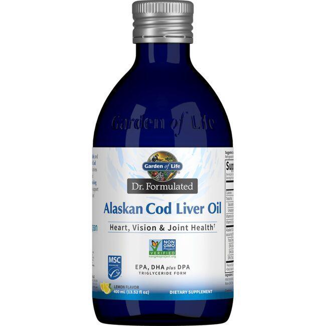 Garden of LifeDr. Formulated Alaskan Cod Liver Oil -  Lemon