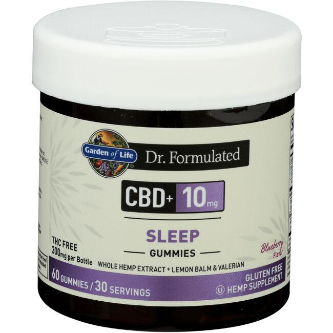 Garden of LifeDr. Formulated CBD  Sleep - Blueberry