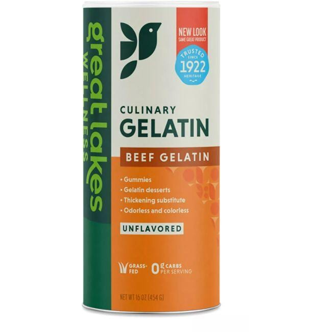 Great Lakes Beef Hide Gelatin - Unflavored