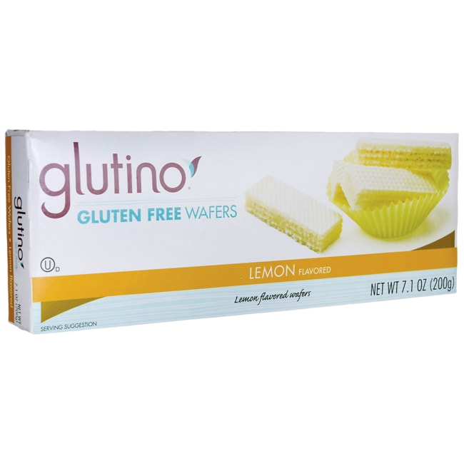 GlutinoGluten Free Wafer Cookies - Lemon