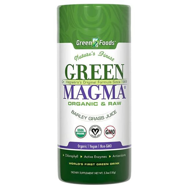 Green Foods Green Magma Barley Grass Juice Powder