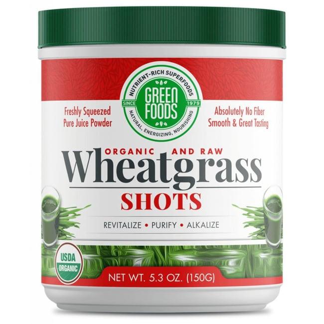 Green FoodsWheat Grass Shots