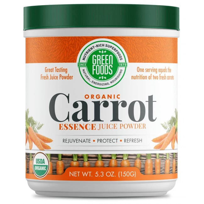 Green Foods Carrot Essence
