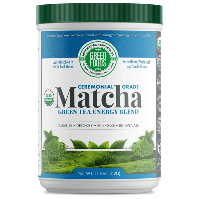 Green FoodsOrganic Matcha Green Tea