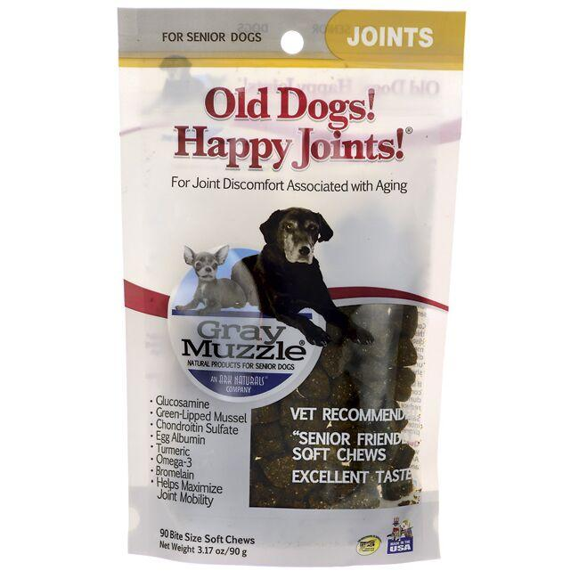 Gray Muzzle Old Dogs! Happy Joints!