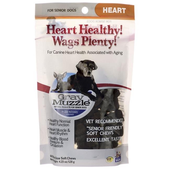 Gray MuzzleHeart Healthy! Wags Plenty!