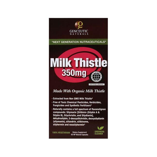 Genceutic NaturalsMilk Thistle