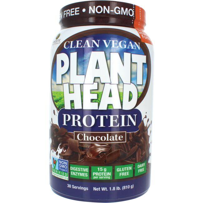 Genceutic Naturals Plant Head Protein - Chocolate