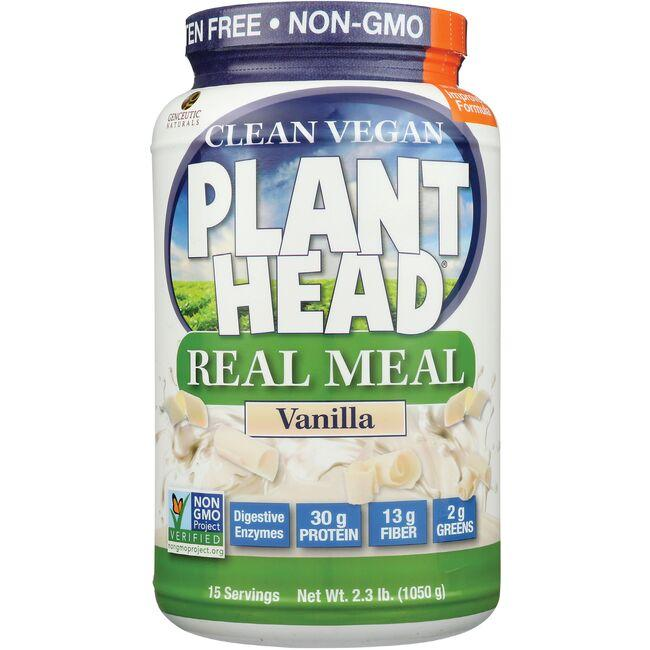 Genceutic Naturals Plant Head Real Meal - Vanilla