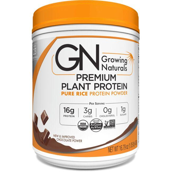 Growing NaturalsPure Rice Protein Powder - Chocolate Power