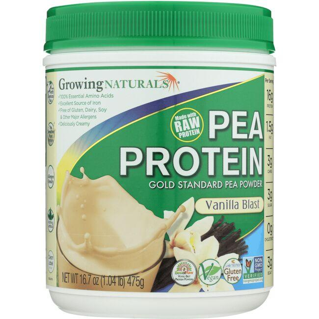 Growing NaturalsPea Protein - Vanilla Blast