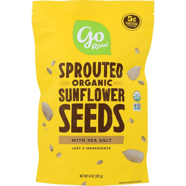 Go RawSprouted Sunflower Seeds with Celtic Sea Salt
