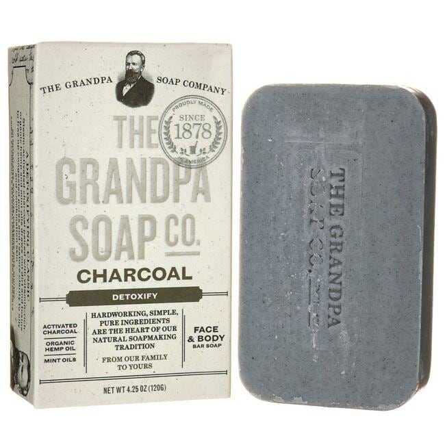 Grandpa Soap Co. Charcoal Soap