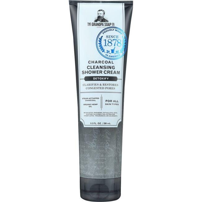 Grandpa Soap Co.Charcoal Cleansing Shower Cream