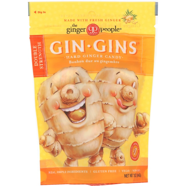 Ginger People Gin-Gins Hard Candy