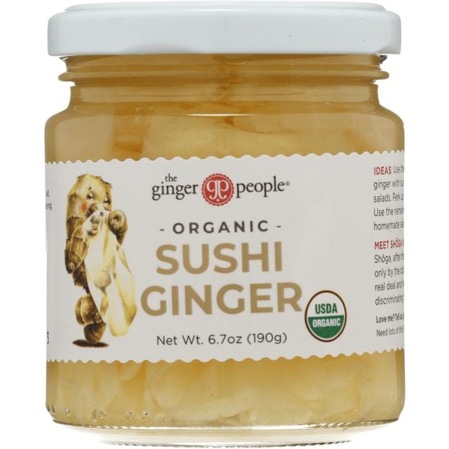 Ginger PeopleOrganic Pickled Sushi Ginger