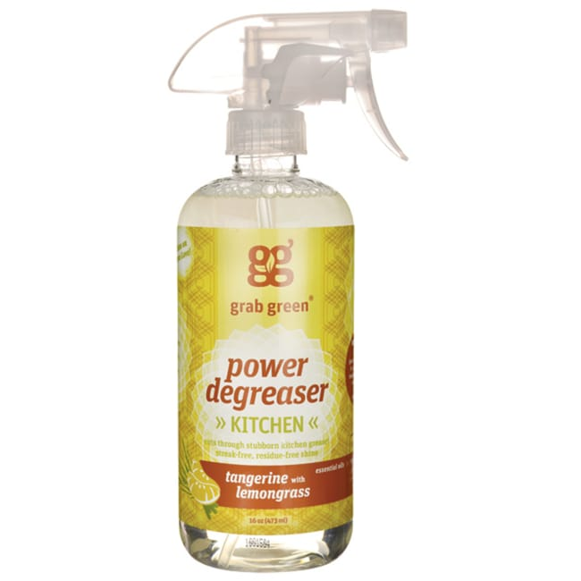 GrabGreenKitchen Power Degreaser - Tangerine with Lemongrass
