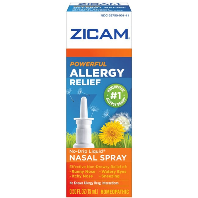 Zicam Allergy Relief Nasal Gel Non Drowsy 0 5 Fl Oz Gel