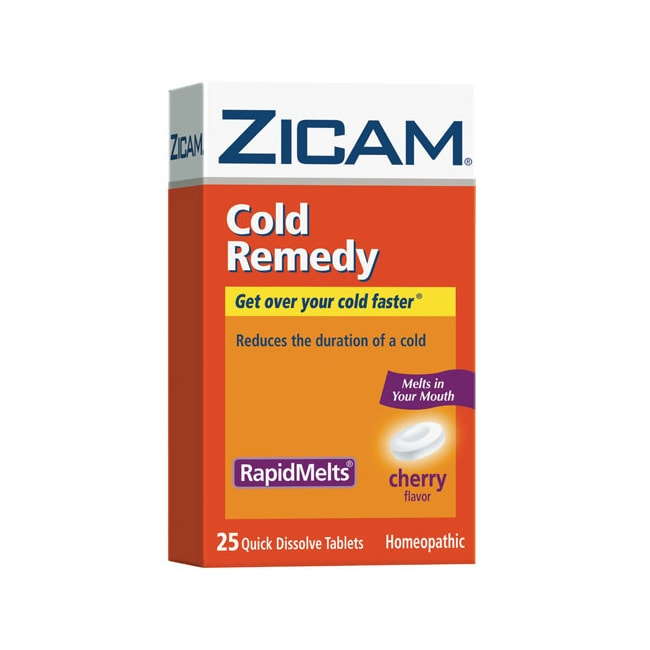 ZicamCold Remedy RapidMelts - Cherry