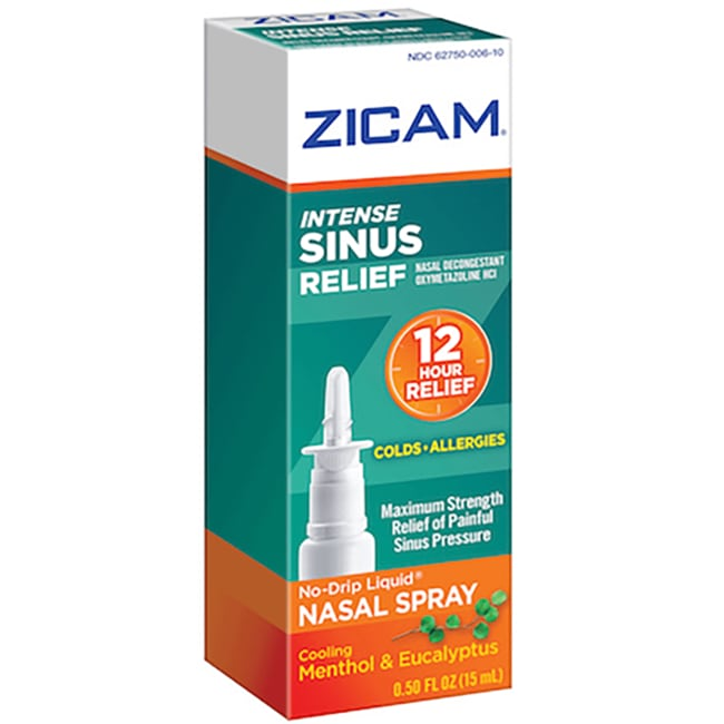 Zicam Intense Sinus Relief Nasal Gel