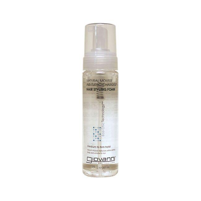 GiovanniNatural Mousse Air-Turbo Charged Hair Styling Foam