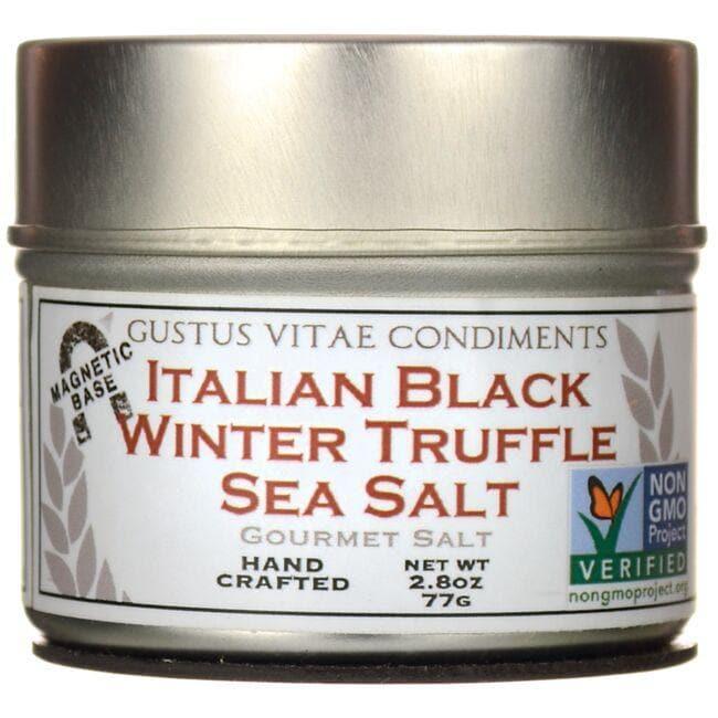 Gustus VitaeItalian Black Winter Truffle Sea Salt