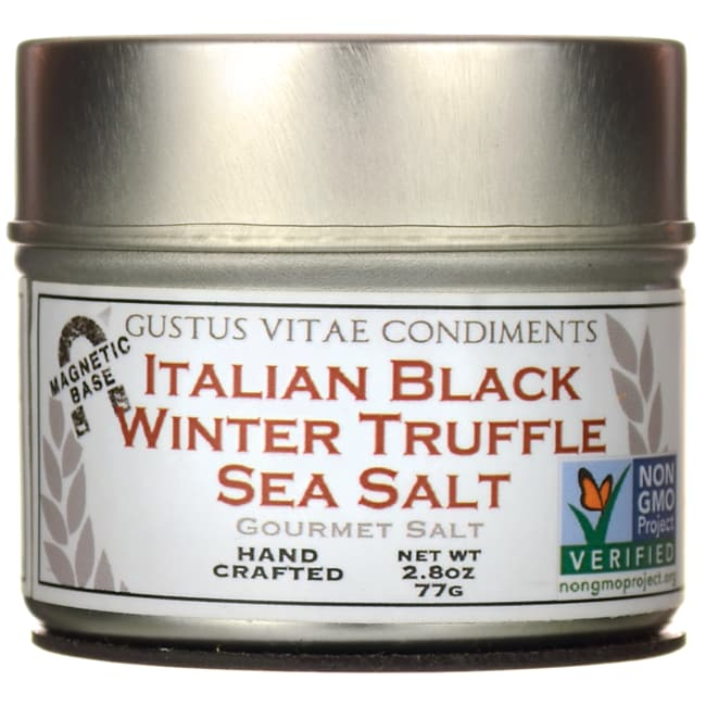 Gustus VitaeItalian Black Winter Truffle Sea Salt