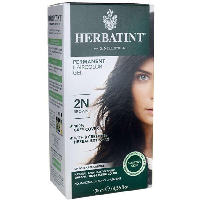 HerbatintPermanent Haircolor Gel 2N Brown