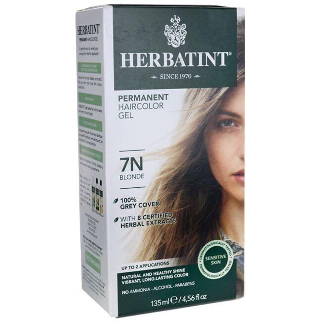 HerbatintPermanent Haircolor Gel 7N Blonde