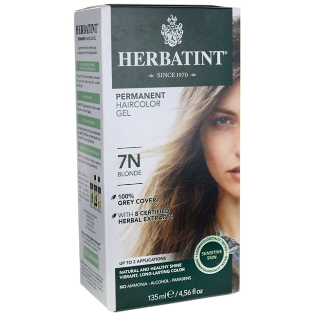 Herbatint Permanent Haircolor Gel 7N Blonde