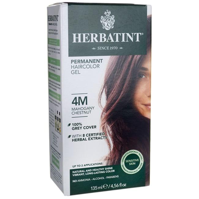 Herbatint Permanent Haircolor Gel 4M Mahogany Chestnut