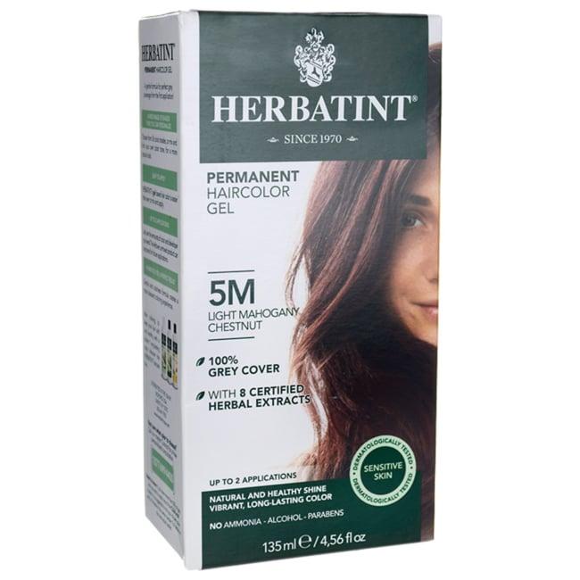 Herbatint Permanent Haircolor Gel 5M Light Mahogany Chestnut