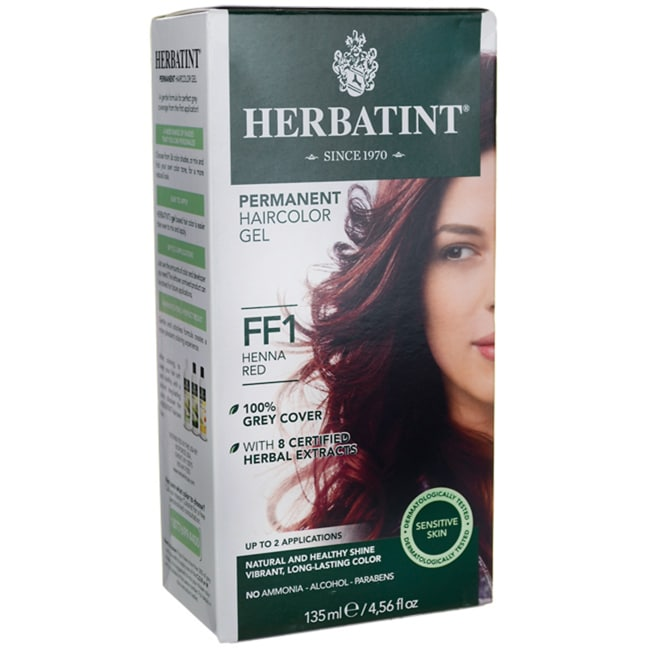 HerbatintPermanent Haircolor Gel FF1 Henna Red