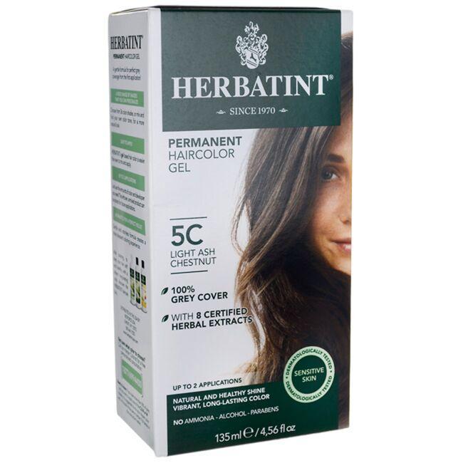 HerbatintPermanent Haircolor Gel 5C Light Ash Chestnut