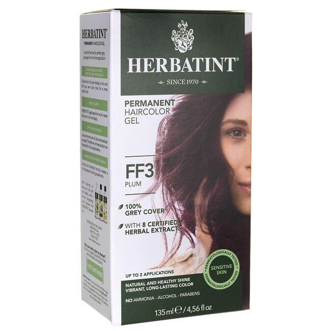 HerbatintPermanent Haircolor Gel FF3 Plum